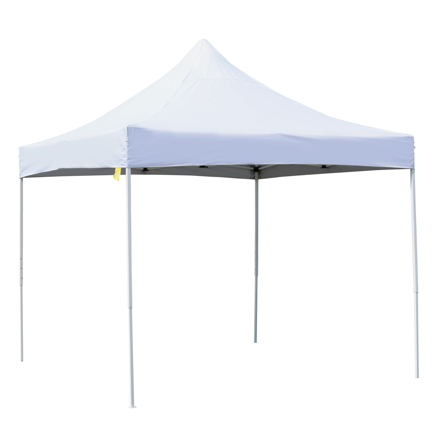 Image of £54.99 Outsunny Pop-up Tent Canopy, 3x3 m-White / 3M x Garden Canopy Sun Shelter Party Marquee Wedding Gazebo w/Carry Bag - White Shade Carry Fold Steel Patio 84C-076WT 5056029889718