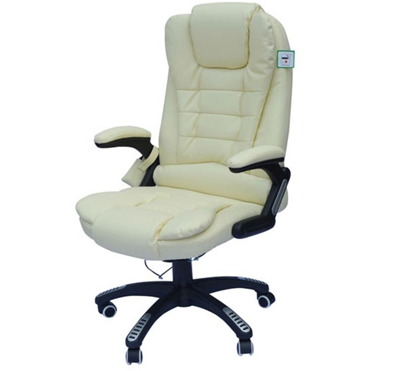 Terrific Homcom Pu Leather Office Chair W Massage Function Andrewgaddart Wooden Chair Designs For Living Room Andrewgaddartcom