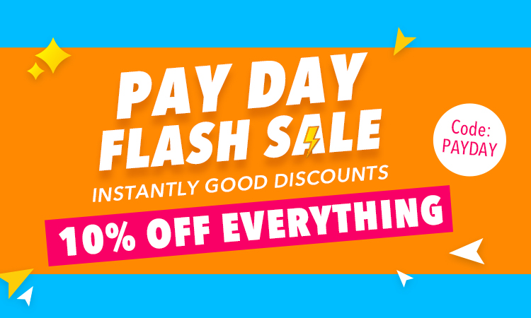 Pay day flash sale